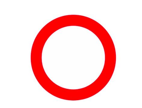 Fahrverbot (in beiden Richtungen)