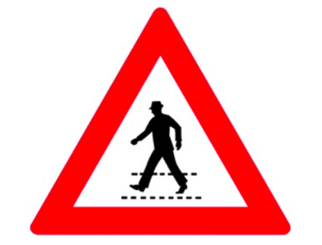 Fußgängerübergang